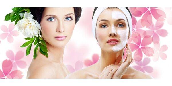 Jarní bylinné ošetření pleti kosmetikou Salvus