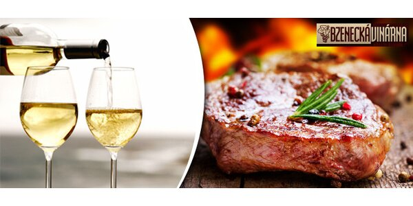Špičkové steakové menu ve Bzenecké vinárně