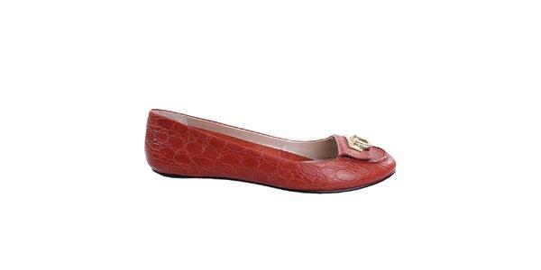 Dámské červené balerínky DKNY