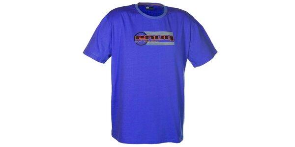 Pánské modré tričko s potiskem loga Envy