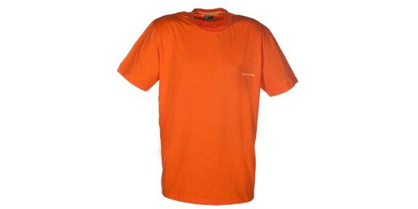 Pánské oranžové tričko Envy