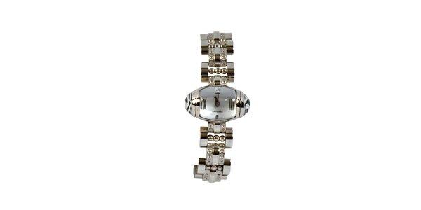 Dámské ocelové náramkové hodinky Gianfranco Ferré se stříbrným ciferníkem
