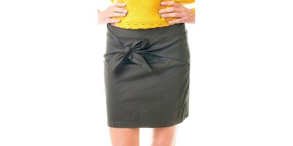 Dámská hnědá sukně se zavazováním Goa Goa