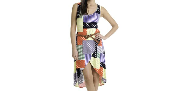 Dámské šaty s barevnými vzory Goa Goa