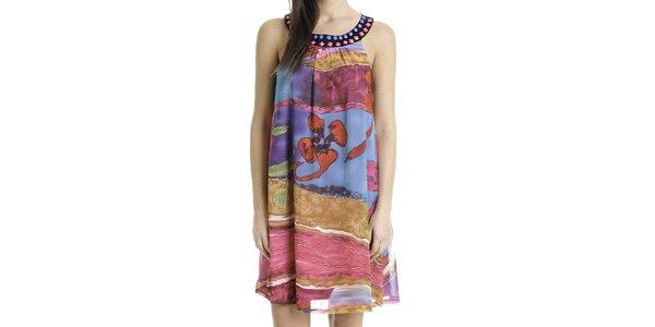 Dámské pestrobarevné šaty Goa Goa
