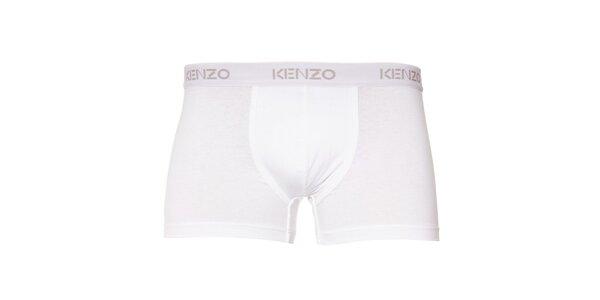 Pánské bílé elastické boxerky Kenzo