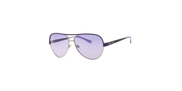 Dámské sluneční brýle s fialovými skly Guess