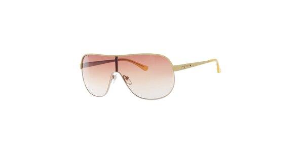 Dámské žluté sluneční brýle Guess