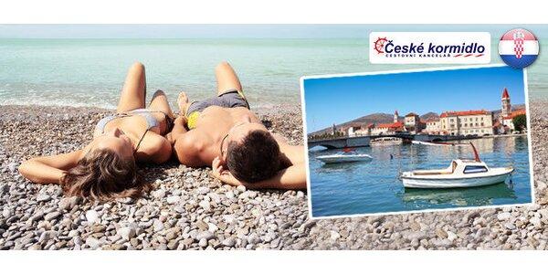 8 dní slunění s polopenzí na Trogirské rivieře