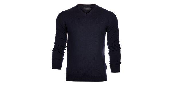 Pánský tmavě modrý svetr Calvin Klein