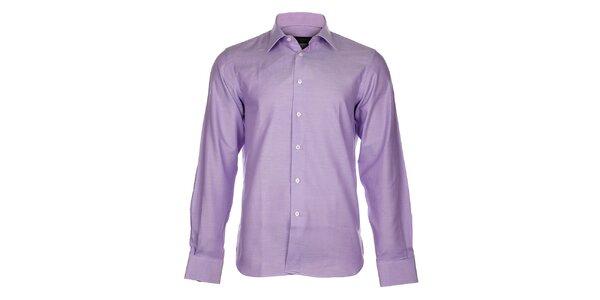 Pánská světle fialová košile Calvin Klein