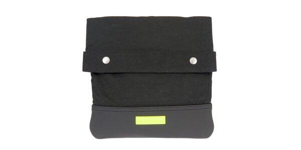 Pánská černá taška přes rameno s neonovým detailem Calvin Klein Jeans