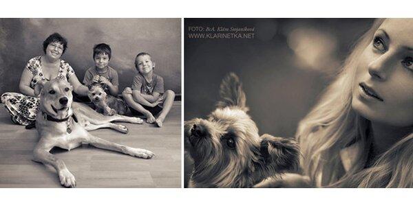 Vy a váš zvířecí mazlíček ve fotografiích