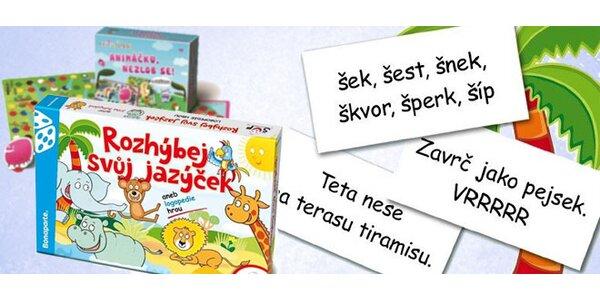 Zábavná hra pro zlepšení řeči u dětí
