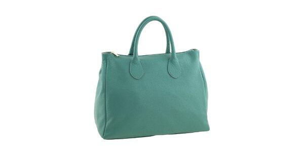 Dámská smaragdová kabelka Valentina Italy