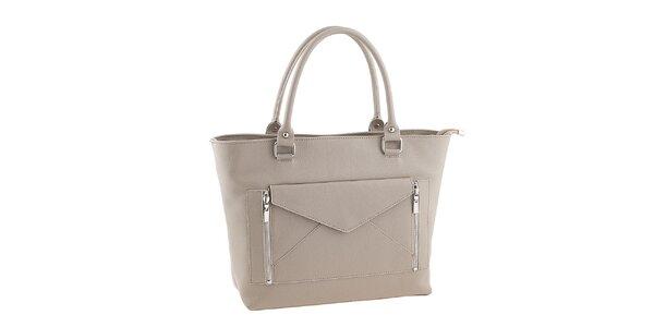 Dámská béžová kabelka s psaníčkem Valentina Italy