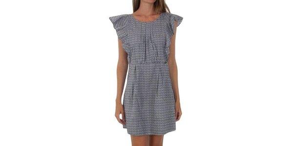 Dámské puntíkované šaty s volánky Tommy Hilfiger