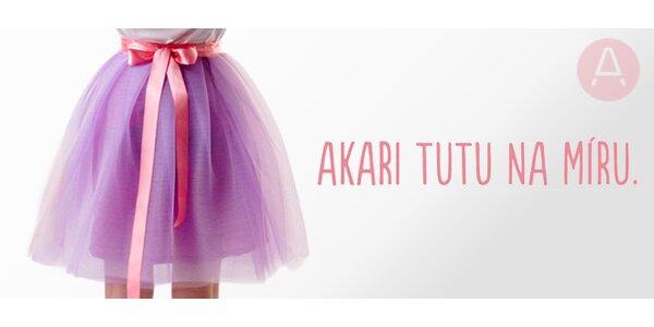 TUTU sukně na míru od Akari