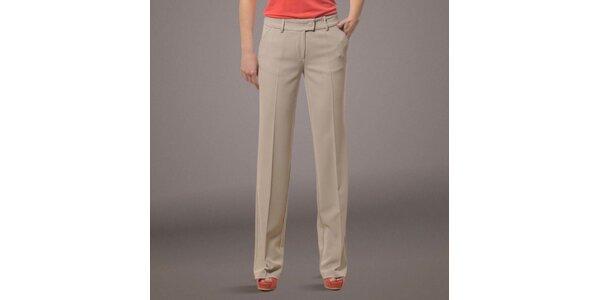Dámské béžové kalhoty s puky Patricia Rado