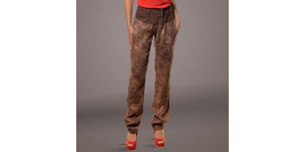 Dámské hnědé kalhoty Patricia Rado