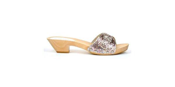 Dámské sandálky s přezkou Les Tropezinnes