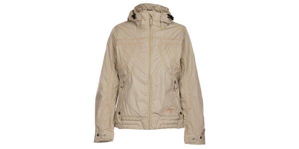 Dámská krémová zimní bunda Hannah