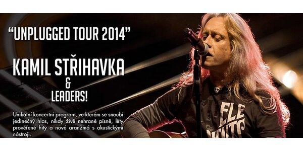 Kamil Střihavka Unplugged tour 2014