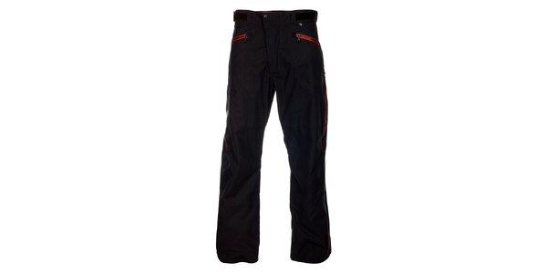 Pánské černé lyžařské kalhoty Hannah s membránou