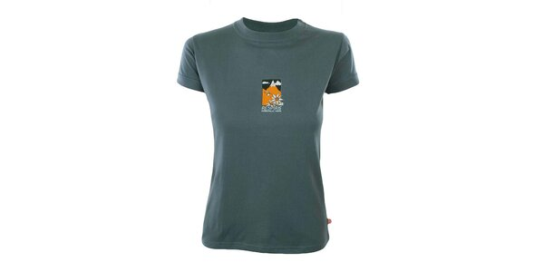 Dámské tričko s horským motivem Respiro