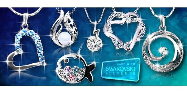 Velký výprodej šperků s krystaly Swarovski Elements