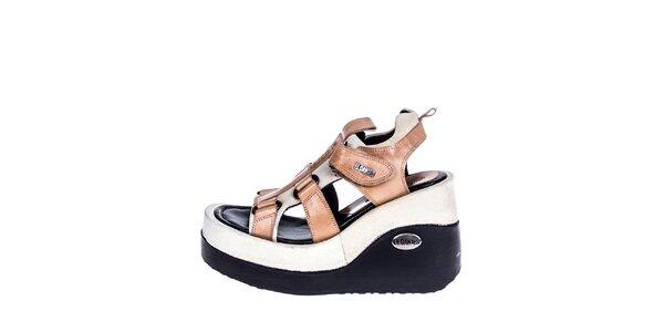 Dámské sandály na klínku El Dantes