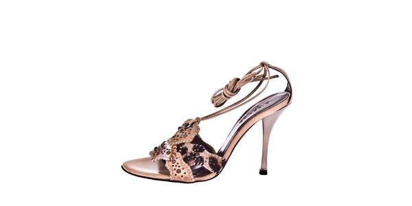 Dámské páskové sandálky se zvířecím motivem El Dantes