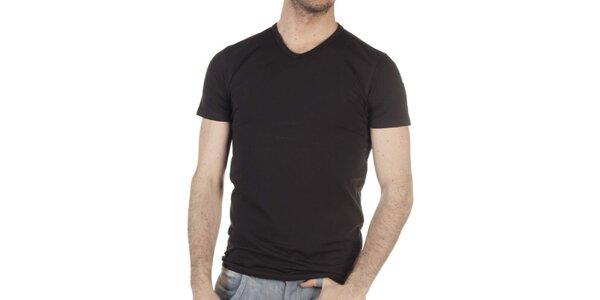 Pánské černé tričko SixValves