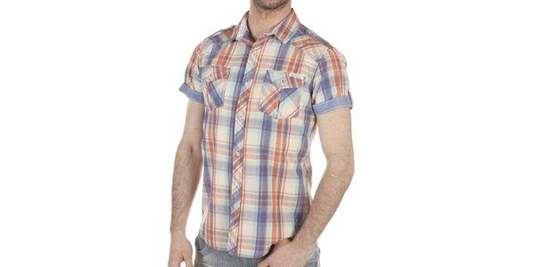 Pánská vícebarevné košile s kapsami SixValves