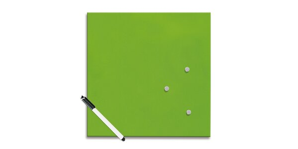 Poznámková tabule - Zelená