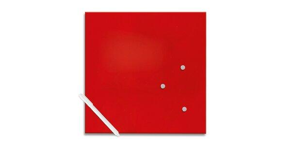 Poznámková tabule - Červená menší
