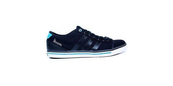 Pánské modré semišové tenisky Adidas