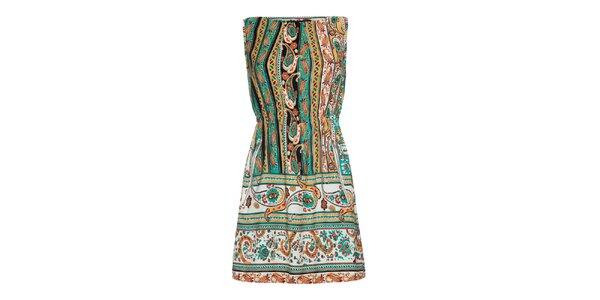 Dámské pestrobarevné šaty Iska