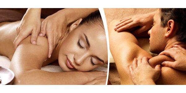 Permanentka na 10 uvolňujících masáží šíje a zad od fyzioterapeuta