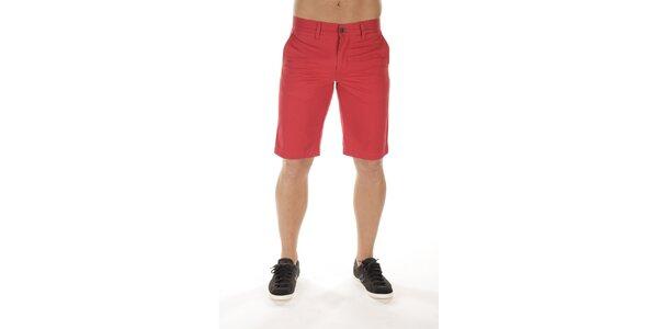 Pánské rudé šortky Bendorff