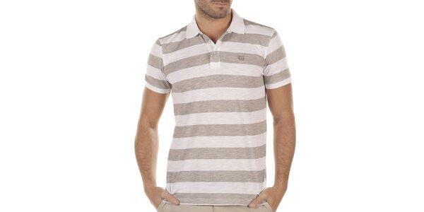 Pánské pruhované polo tričko Bendorff