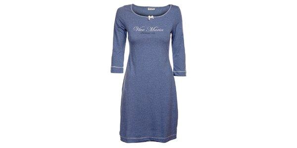 Dámské světle modré melírované šaty Vive Maria
