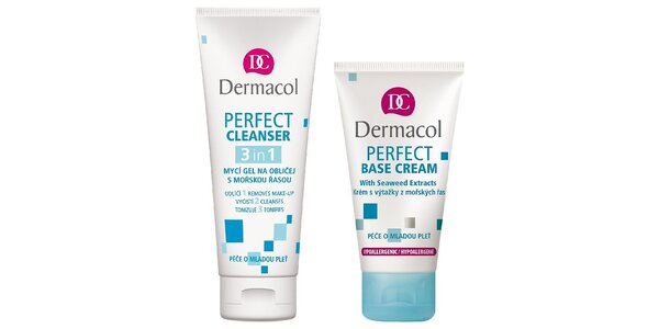 Perfect Base krém 50ml+ mycí gel na obličej 3v1 100ml