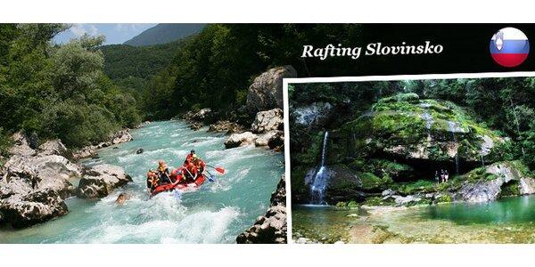 4denní rafting na řece Soča ve Slovinsku