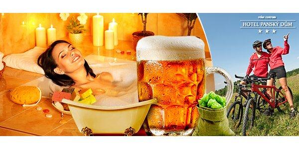 Úžasné pivní wellness pod Orlickými horami