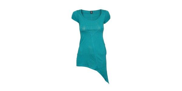 Dámské tričko Timeout v azurové barvě