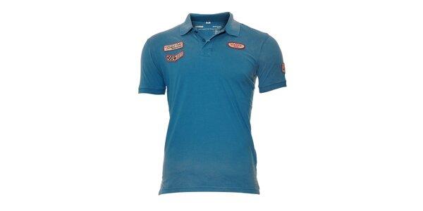 Pánské polo tričko Timeout v modré barvě
