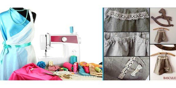 Základní kurz šití - pro začátečníky