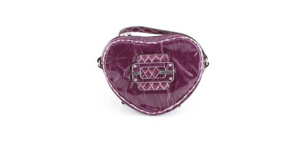 Dámská tmavě fialová kabelka Guess