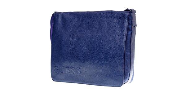 Pánská modrá taška přes rameno Guess